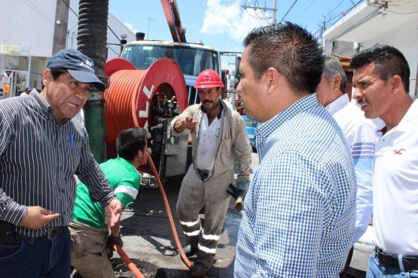 Emprenden obras para prevenir inundaciones