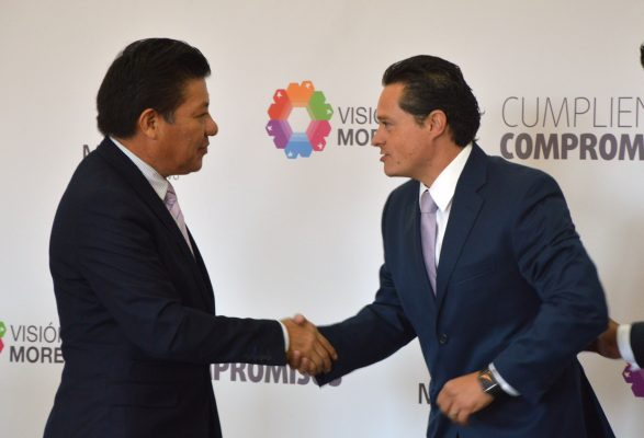 Se gobierna con los mejores  y los más leales: Matías Quiroz