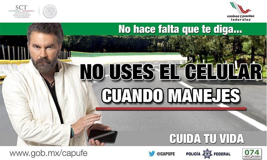 CAPUFE arranca campaña de prevención
