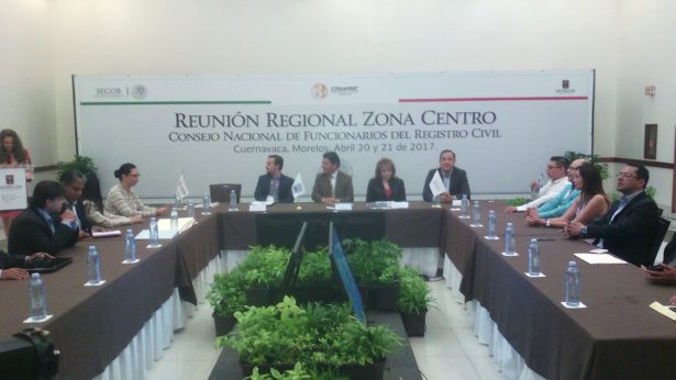 Morelos tiene avances importantes en materia de registro civil: Matías Quiroz