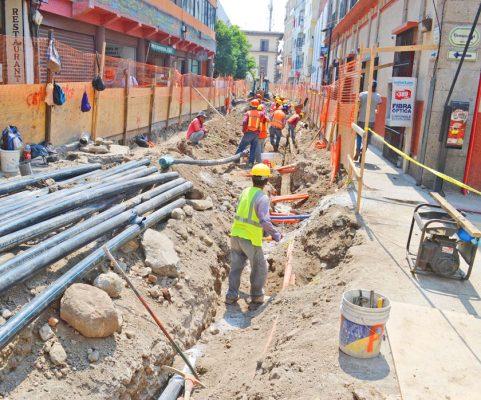 Disminuyen las ventas por obras en el Centro Histórico