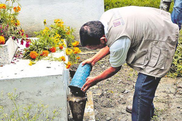 Recogen 19 t de basura en panteones de Tlaltizapán