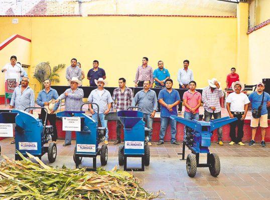 Reciben apoyo agricultores de Tlaltizapán