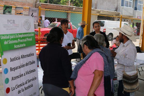 Llevan a Tetela Ministerio  Público Itinerante