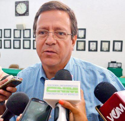 Alejandro Villarreal Gasca, tesorero del Ayuntamiento de Cuernavaca. Foto: HAIDEE GALICIA