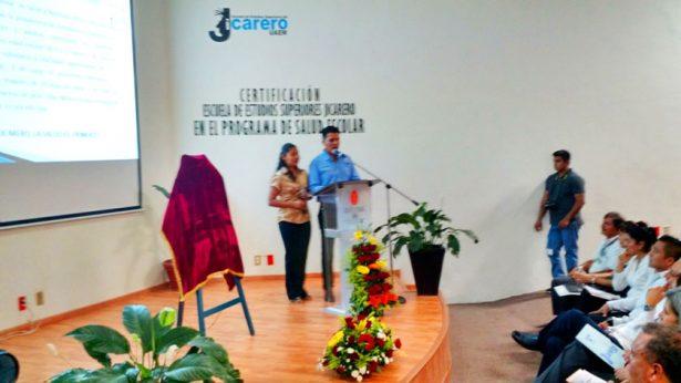 Auditorio de la Escuela de Estudios Superiores del Jicarero.