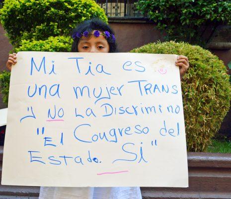Ayer se celebró el día nacional de la lucha contra la homofobia y transfobia . Foto: HAIDEE GALICIA