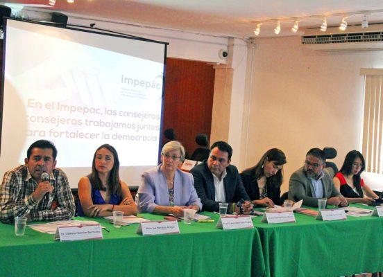 Confía el Impepac en que los legisladores respaldarán su propuesta de reforma electoral