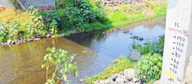 Creció el río Apatlaco hasta cinco metros de altura