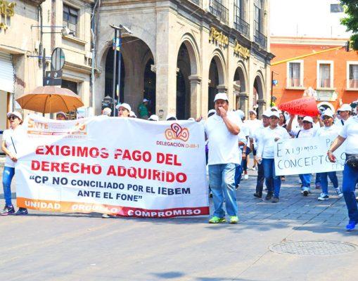 Anuncian Sección 19 del SNTE y el IEBEM pagos para los trabajadores