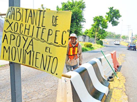 Banobras realizará un estudio de factibilidad en las casetas de Xochitepec para determinar la reducción del peaje. Foto: FROYLÁN TRUJILLO