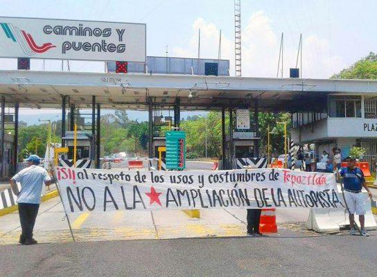 Se opone la población a obras en La Pera-Cuautla