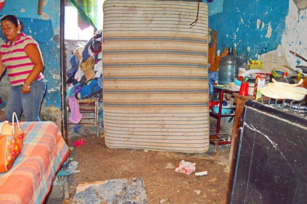 Sólo daños materiales dejaron como saldo las lluvias pasadas. Foto: GUDE SERVÍN