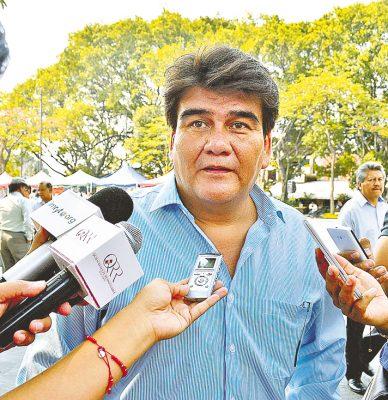 El alcalde de Jiutepec, Manolo Agüero Tovar. Foto: HAIDEE GALICIA