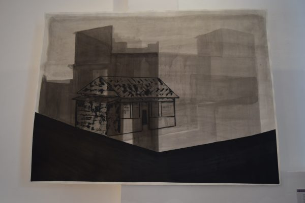 """Fragmento de tiempo (Casa Mazahua)"" de Rubén Morales Lara."