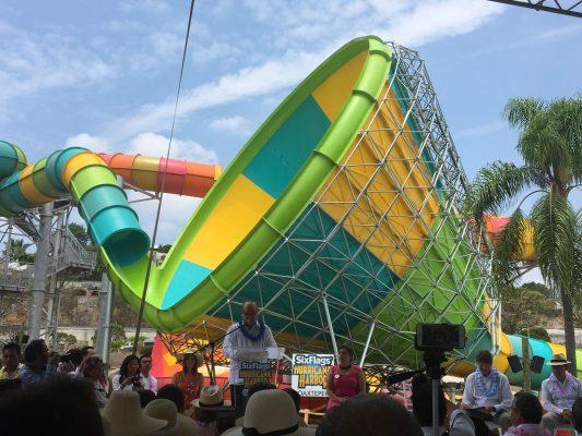 [EN VIVO] Inauguran Six Flags Hurricane Harbor Oaxtepec