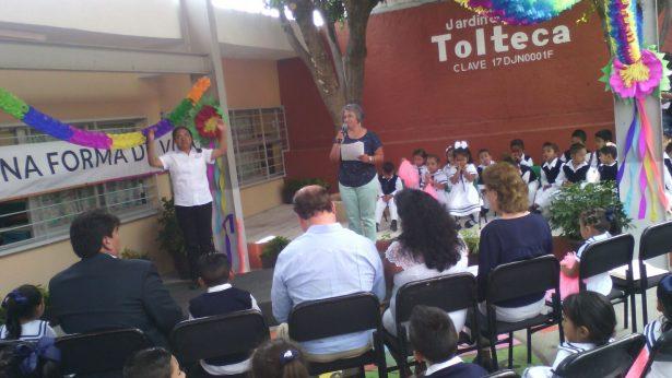 [EN VIVO] Inauguran la obra educativa del Jardín de Niños Tolteca en Jiutepec
