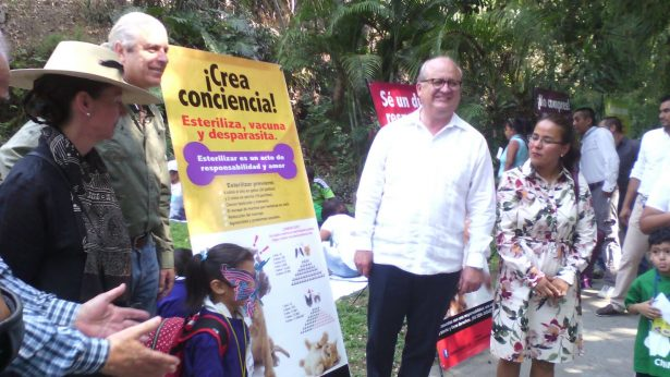 Autoridades estatales visitan la CIMMA en el Parque Chapultepec