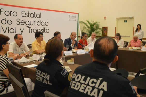 Realizan Foro Estatal de Seguridad Vial y Tránsito