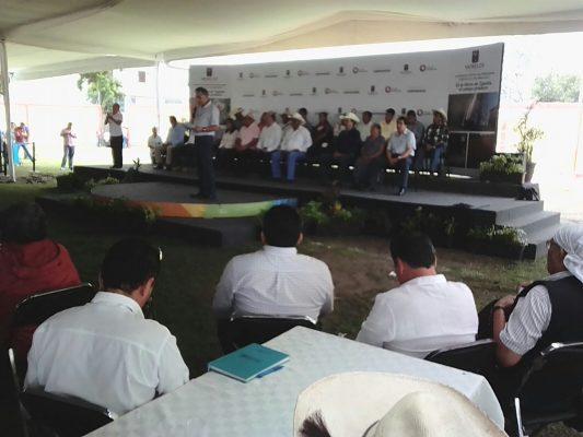 [EN VIVO] Entrega gobierno apoyos de créditos a la palabra a productores del campo