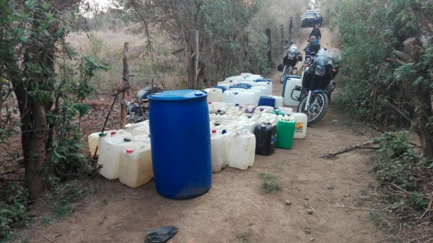 Encuentran toma clandestina de gasolina en Ocotepec