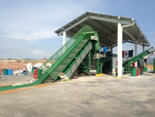 Trabaja planta valorizadora con 20 toneladas de basura