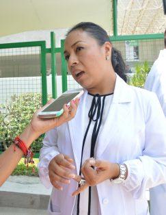 Delia gamboa Guerrero, subdirectora médica del HGR Plan de Ayala, del IMSS.