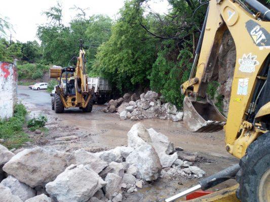 Lluvia causa afectaciones en varios puntos de Morelos