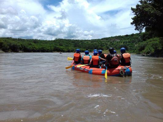 Inició la temporada de  rafting en Amacuzac