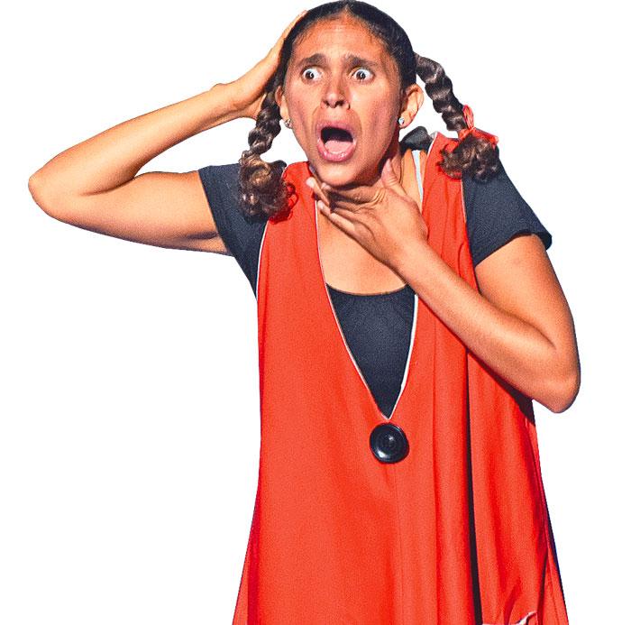 María perdió la voz, en el Ocampo