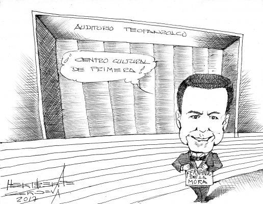 Cartón: Auditorio Teopanzolco