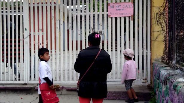 Escuelas las más afectadas por el sismo