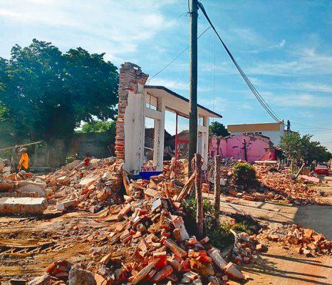 Ayuda Morelos a afectados por los temblores en Oaxaca