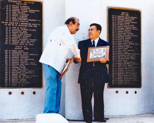 Recibió varios reconocimientos por su admirable trabajo. Foto Cortesía