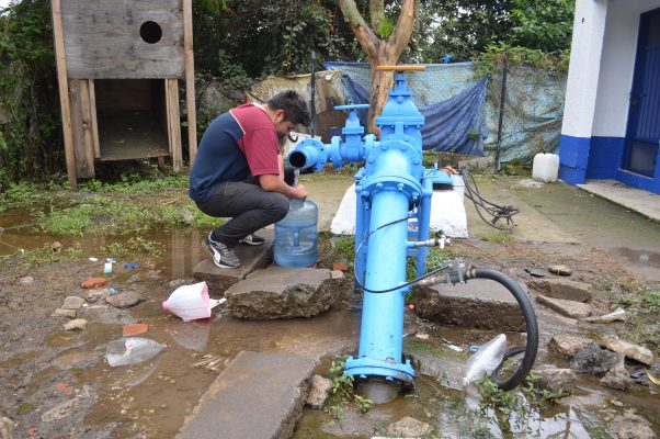 Mantendrán tarifas de agua en Xoxocotla