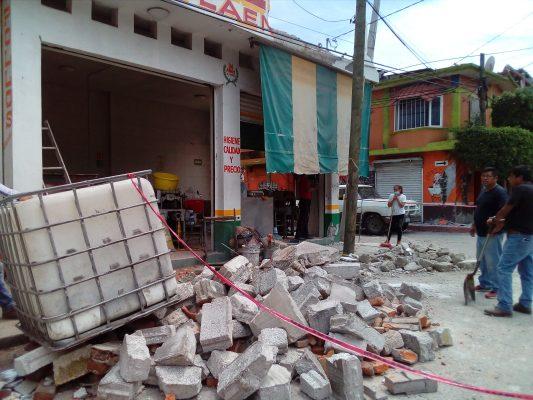 Evaluarán daños en Tepalcingo