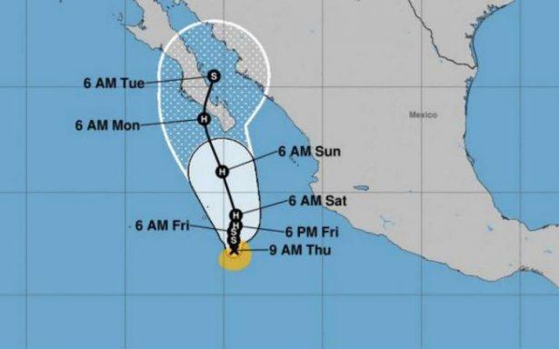 Se forma en el Pacífico la tormenta tropical Norma