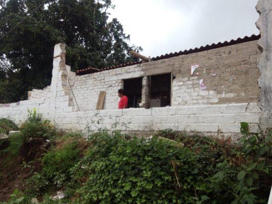 Pierden su patrimonio 400 familias en Tepalcingo