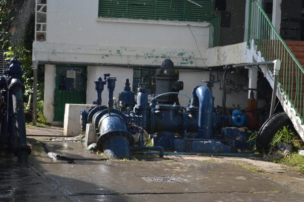 Por sismo se vio afectada la red de agua potable