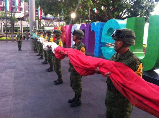 [EN VIVO] Honran a víctimas con himno nacional