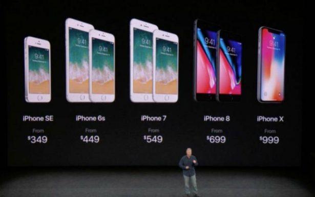 Apple y su nueva familia: iPhone 8, 8 Plus y el increíble X