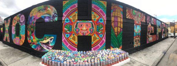 La belleza del grafitti en Xochitepec