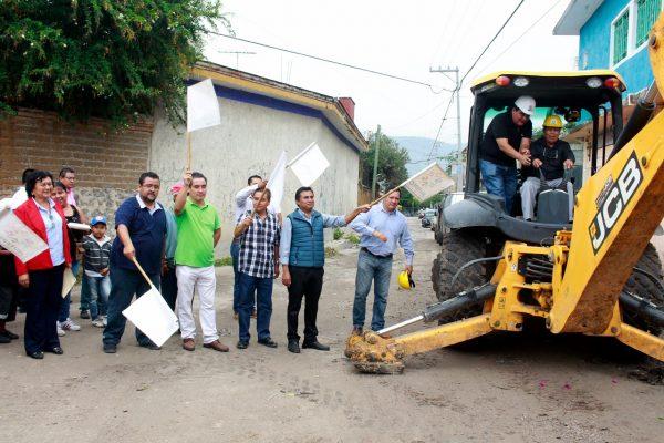 Mejorar las condiciones de vida en Calera Chica