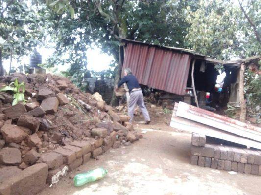 Registran 358 viviendas afectadas en Huitzilac