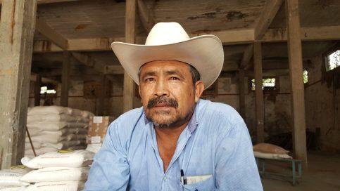 Héctor Ocampo Hernández, Presidente del Comisariado Ejidal de Panchimalco en el municipio de Jojutla.