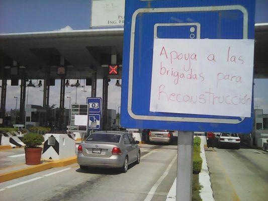 Liberan caseta de Tepoztlán en solidaridad con brigadistas