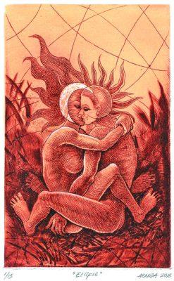 Plasman erotismo y sensualidad