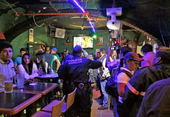 Inician operativos en bares y discotecas