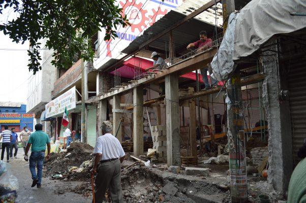 Eximirán de pago de licencias a casas por reconstruir