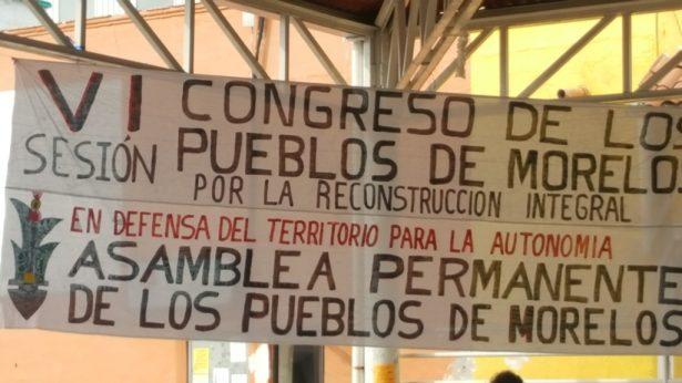"""Marcharán """"Pueblos de Morelos"""" en CDMX"""